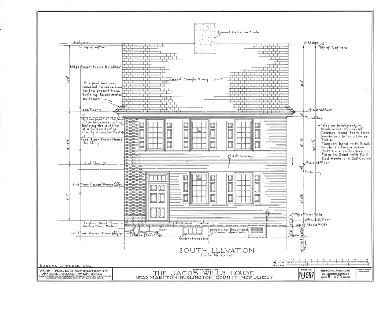 File:Jacob Wills House, Marlton, Burlington County, NJ HABS NJ,3-MART.V,1- (sheet 5 of 20).png - Wikimedia Commons
