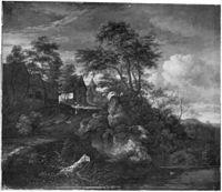 Jacob van Ruisdael - Houses near Castle Bentheim.jpg