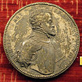 Jacopo nizzola da trezzo, medaglia di filippo II e maria I tudor.JPG
