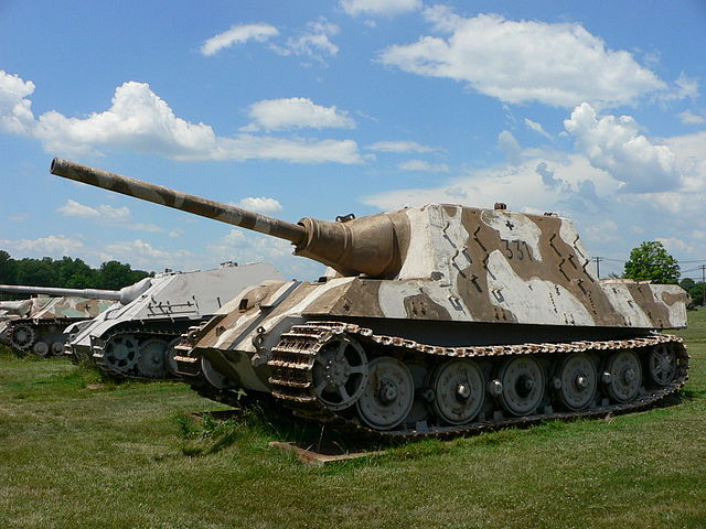 Jagdtiger side us army ordnance 2007