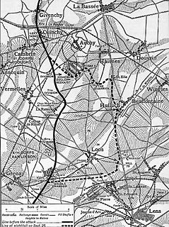 Battle of Loos offensive mounted on the Western Front during World War I
