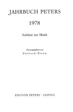Jahrbuch Peters 1978 Titel.png