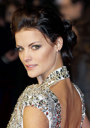 Jaimie Alexander - Alexander at the London premiere of The Last Stand in January 2013.