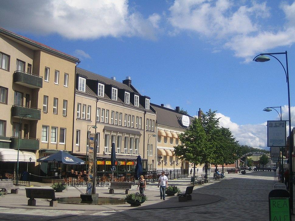Jakobstad pedestrian street 1