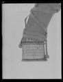 Jakthorn, enligt inskriptionen tillverkat av horn från den siste uroxen i Europa - Livrustkammaren - 19457.tif
