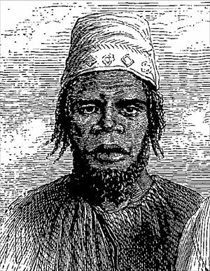 Yalunka people - Portrait of a Yalunka (1861)