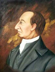 James Hutton, painted by Abner Lowe.