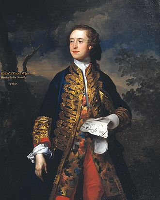 James Latham (painter) - The Rt Hon. Sir Capel Molyneux 1740 James Latham 1696-1747 Purchased 1947 http://www.tate.org.uk/art/work/N05801