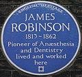 James Robinson 14 Gower Street blue plaque.jpg