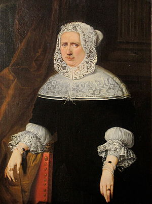 Jan Anthonie Coxie - Portrait of Catharina de Dryver