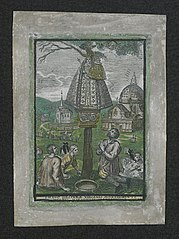 Jan Clement and other pilgrims being healed by Our Lady of Scherpenheuvel (r2)