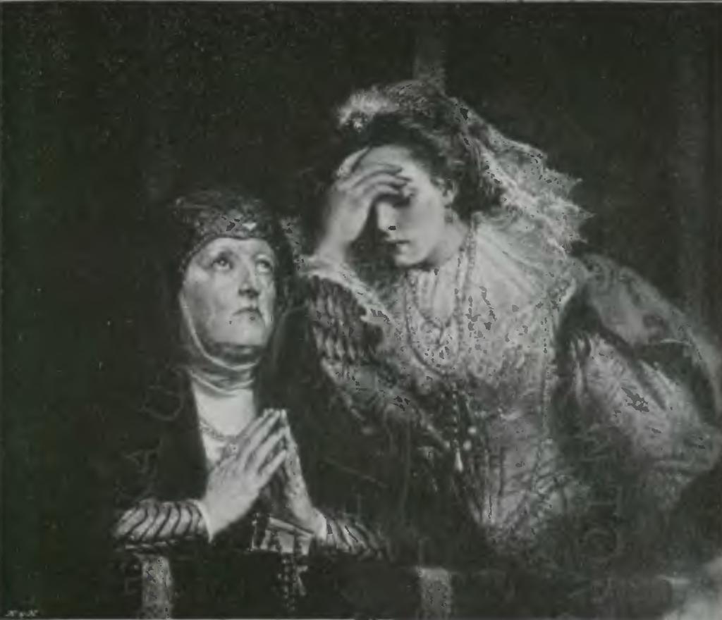 Jan Matejko - Kazanie Skargi, IV. Anna Jagiellonka i Halszka Ostrogska.png