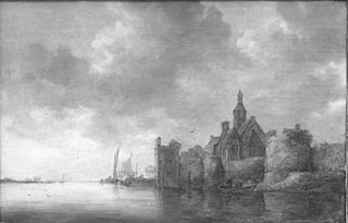 River Landscape with Church