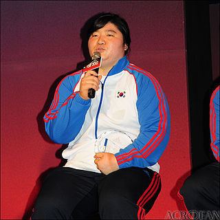 South Korean Olympic weightlifter