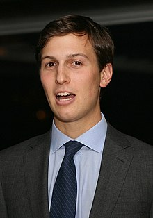 Jared Kushner, special advisor to the president