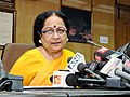 Jayanthi Natarajan addressing a Press Conference on the outcome of the Conference of Party 11, the Biodiversity Conference (recently concluded in Hyderabad), in New Delhi on October 22, 2012.jpg