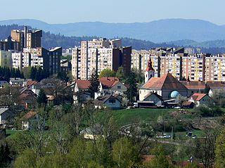 Ježica Place in Upper Carniola, Slovenia