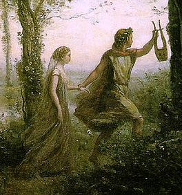 Orpheus, the greatest poet of Classical mythology