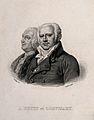 Jean-Nicolas, Baron Corvisart, and Antoine Petit. Line engra Wellcome V0006872.jpg