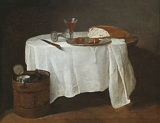 The White Tablecloth