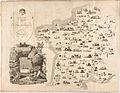 Jean François Tourcaty, Carte Gastronomique de la France, 1809 Cornell CUL PJM 1033 01.jpg