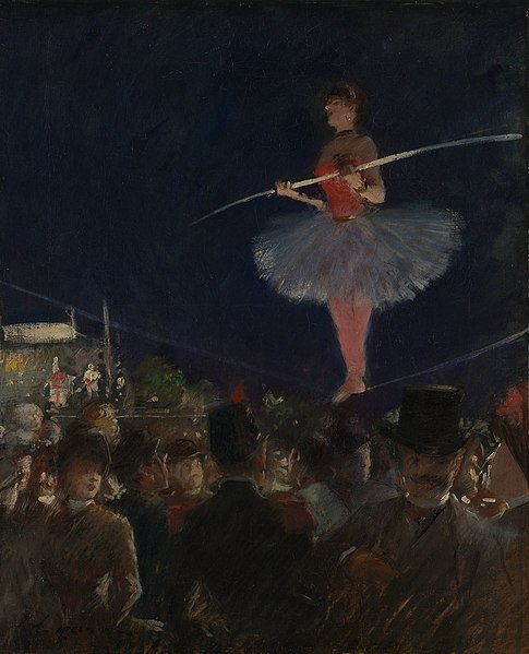 File:Jean Louis Forain - Tight-Rope Walker - 1951.208 - Art Institute of Chicago.jpg