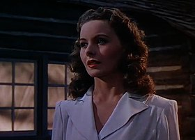 Jeanne Crain in Leave Her to Heaven