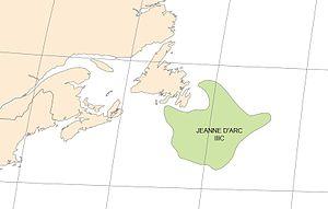 Hibernia oil field - Jeanne d'Arc Basin