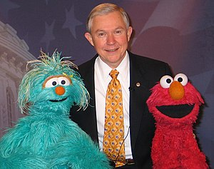 Jeff Sessions with Elmo and Rosita.jpg