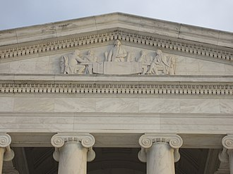 Committee of Five - The Committee of Five is depicted on the pediment of the Jefferson Memorial in a sculpture by Adolph Alexander Weinman