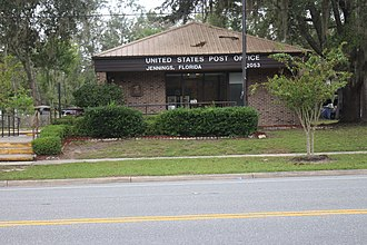 Jennings, Florida - Jennings Post Office