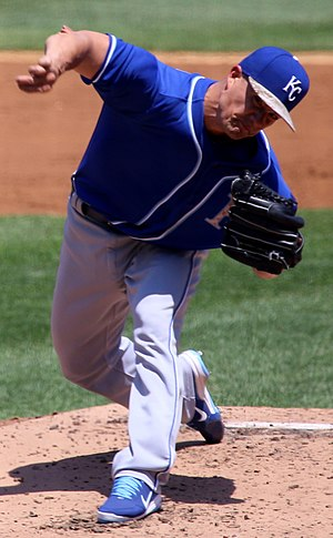 Jeremy Guthrie - Guthrie with the Kansas City Royals