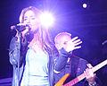 Jessie James performing in Hangar 1, Ramstein Air Base 05.jpg