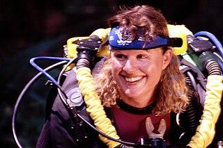 Jill Heinerth Canadian diver, writer and underwater filmmaker