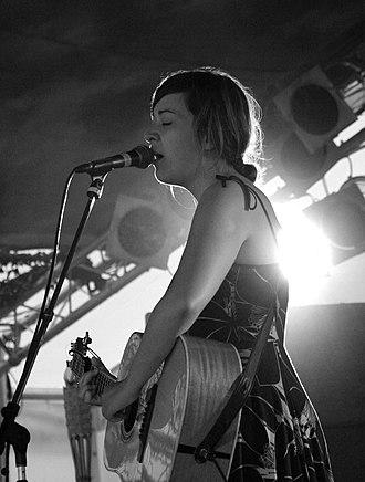 Jill Barber - Jill Barber performing at the 2007 Summer Sundae festival in Leicester, England