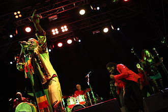 Jimmy Cliff - Jimmy Cliff performing in Bildein, Austria, 2012