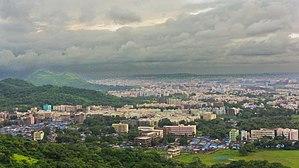 Virar - Panoramic view of the city