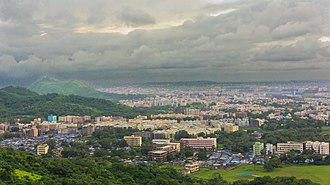 Virar - Panoramic view of the city