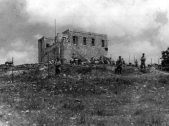 Ein HaShofet - The hill of Jo'ara, July 1937