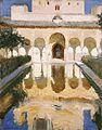 Joaquín Sorolla y Bastida - Alhambra, Salón de Embajadores (1909).jpg