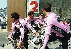 ONCE (cycling team) - Image: Johan BRUYNEEL