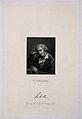 Johann Christoph Friedrich von Schiller, with a reproduction Wellcome V0005292.jpg