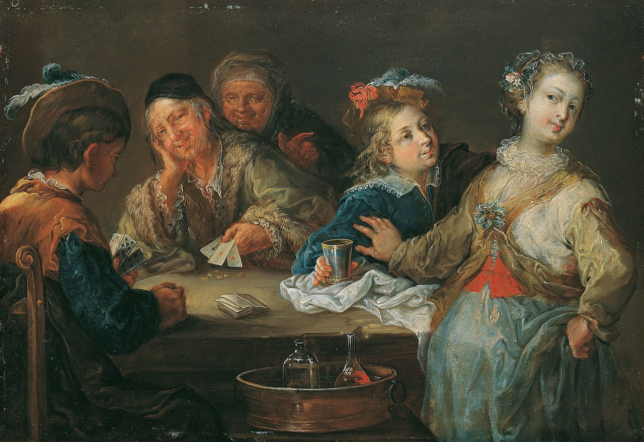 Johann Georg Platzer - Kartenspieler (As ist Trumpf) - 4098 - Kunsthistorisches Museum.jpg