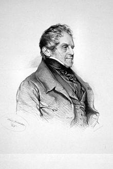 Johann Philipp von Wessenberg, Lithographie von Josef Kriehuber, 1847 (Quelle: Wikimedia)