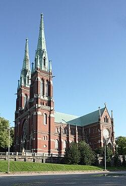 Johanneksen kirkko Johannes church crop.jpg