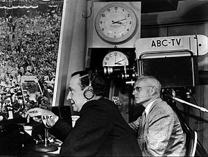 John Charles Daly - Daly and Howe covering a Presidential convention for ABC