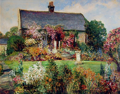 John Falconer Slater The Flower Garden