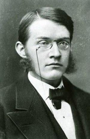 John Henry Wright - Young age photograph of John Henry Wright.