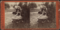 John Hoey's Garden, Long Branch. 'The Letter Carrier.', from Robert N. Dennis collection of stereoscopic views.png