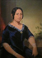 Portrait of Princess Manaiula Tehuiarii